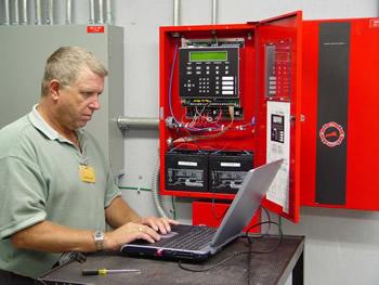 подключение и настройка пожарной сигнализации
